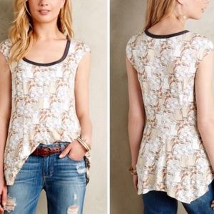 ANTHROPOLOGIE tullia swing top by WESTON❤️